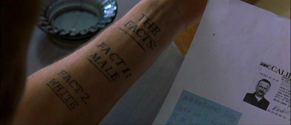 leonard s tattoos in memento essay example